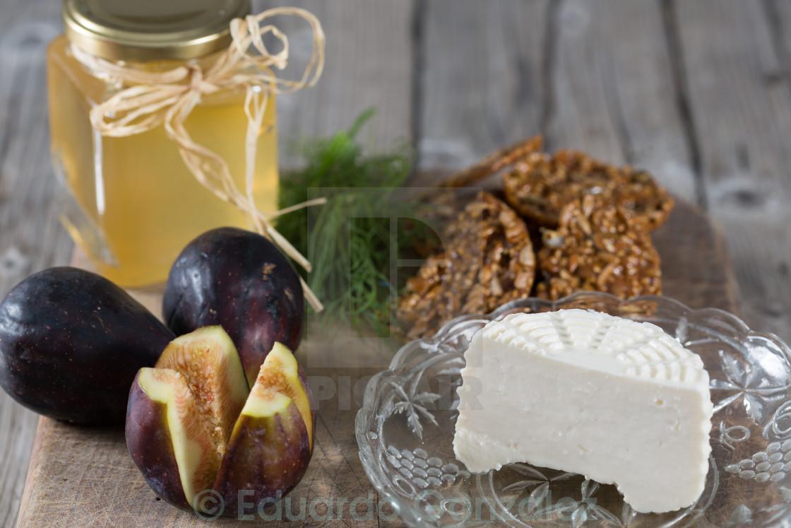 """""""Fresh cheese"""" stock image"""