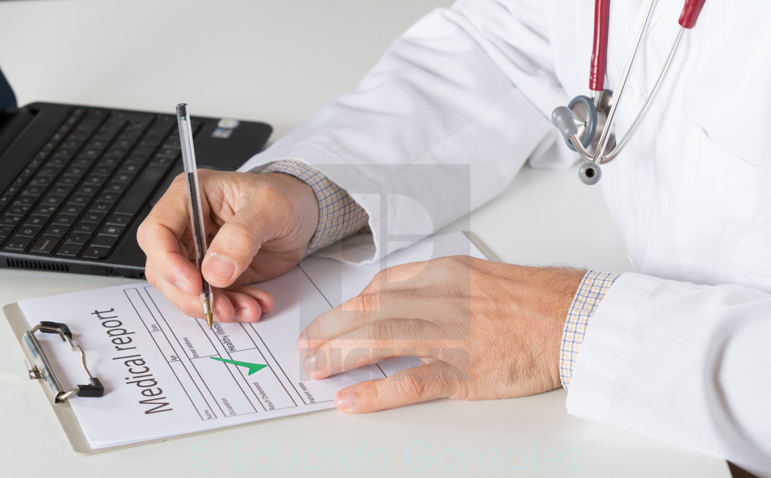 """Medical consultation"" stock image"