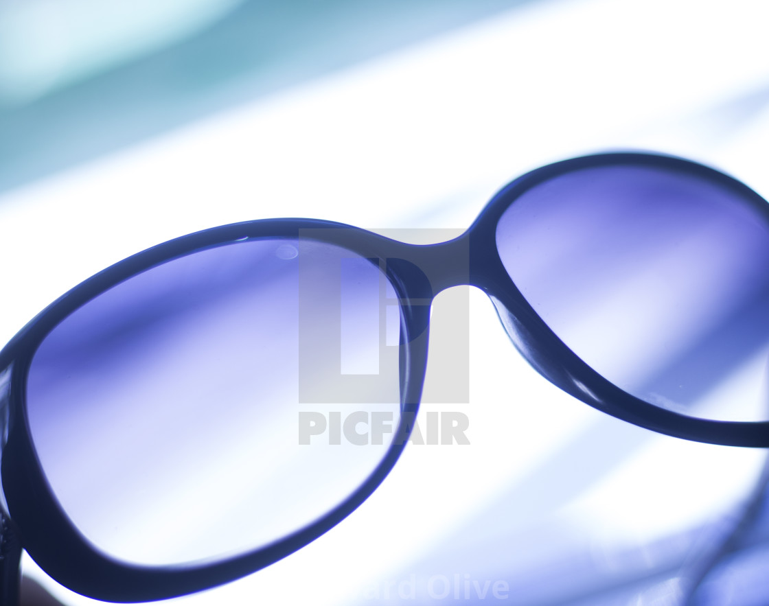 """Ladies fashion sunglasses"" stock image"