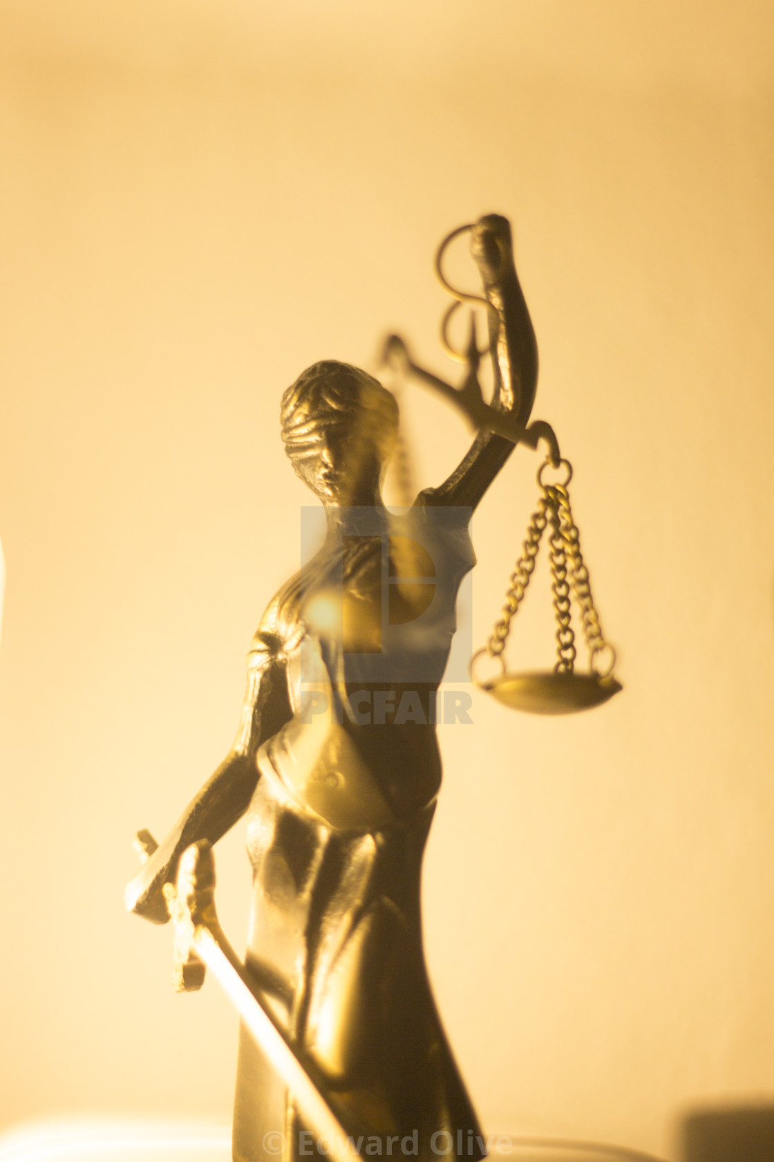 """Legal justice law statue"" stock image"