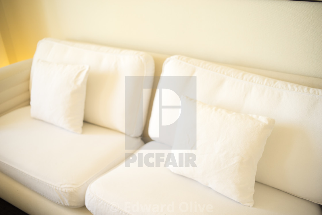 """Luxury hotel suite bedroom"" stock image"
