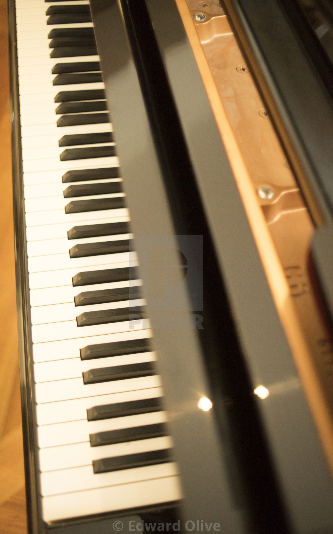 Grand Piano Keyboard Keys License Download Or Print For 14 99 Photos Picfair