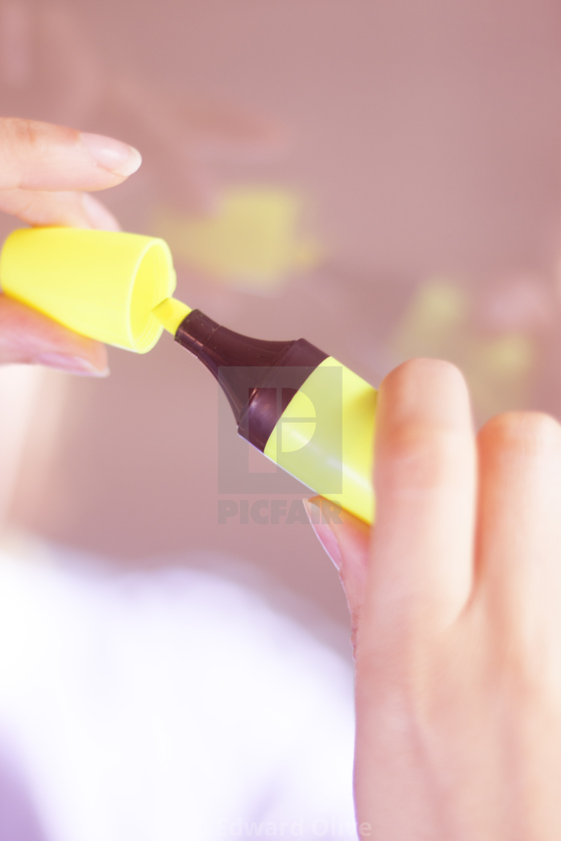 Felt Tip Marker Highlighter Pen License Download Or Print