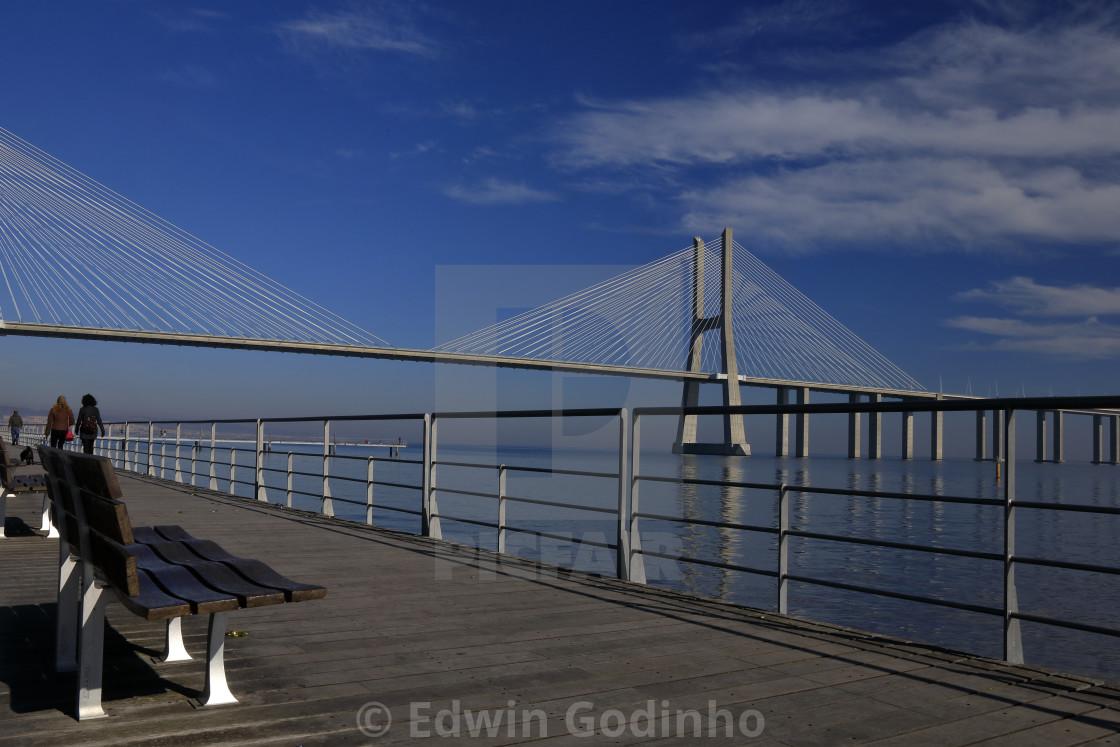 Vasco da Gama Bridge - Lisboa, Portugal