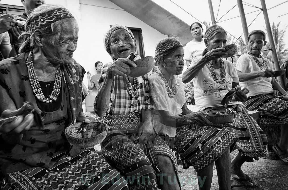 """Kalinga Tribe Elders"" stock image"
