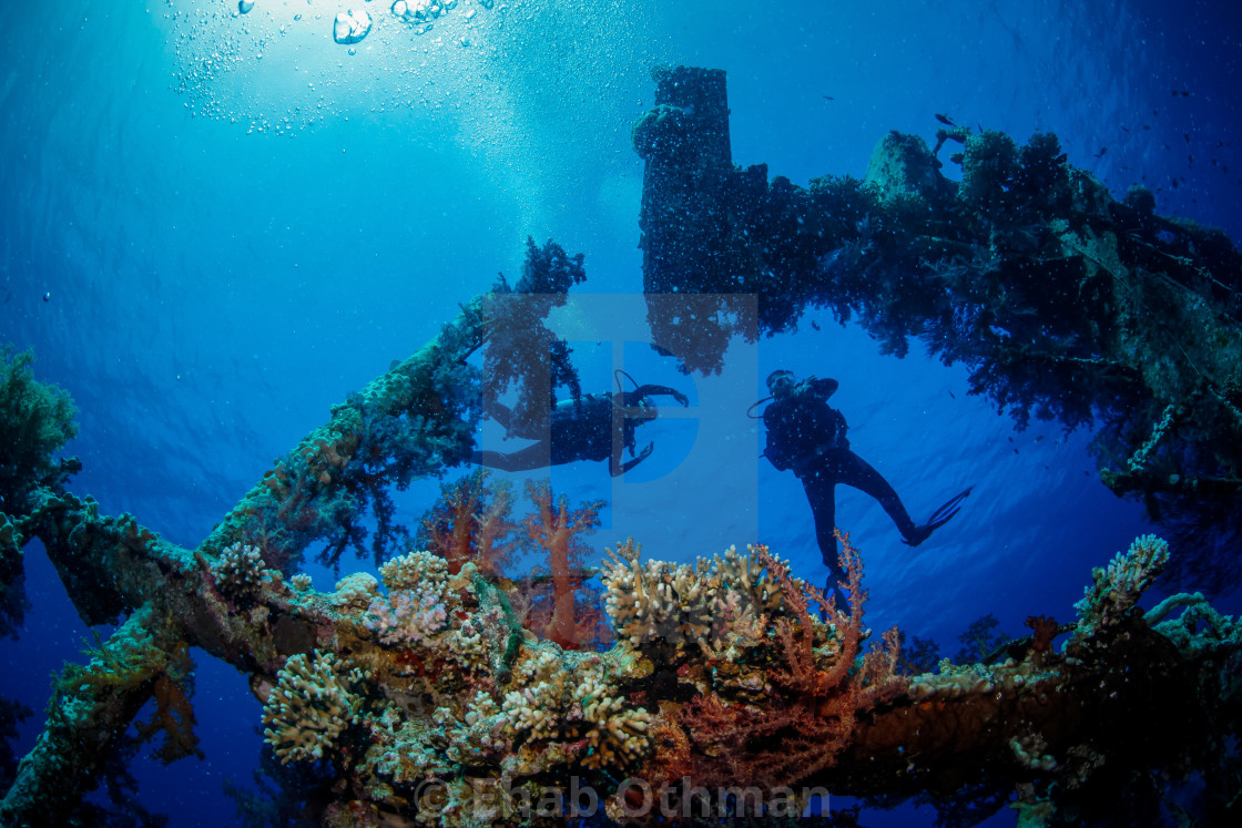 """Ship Wreck"" stock image"