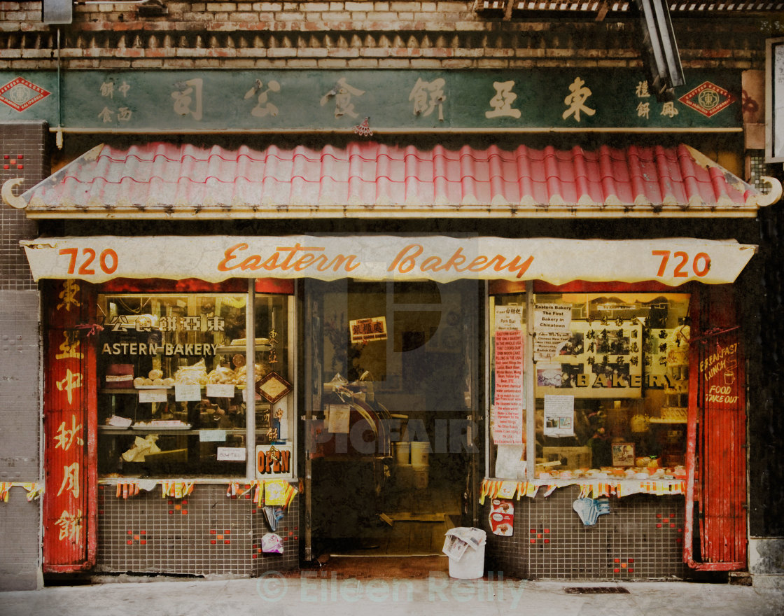 """Eastern Bakery, San Francisco"" stock image"