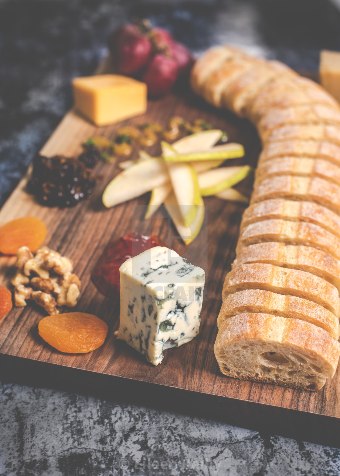 """Cheese board"" stock image"