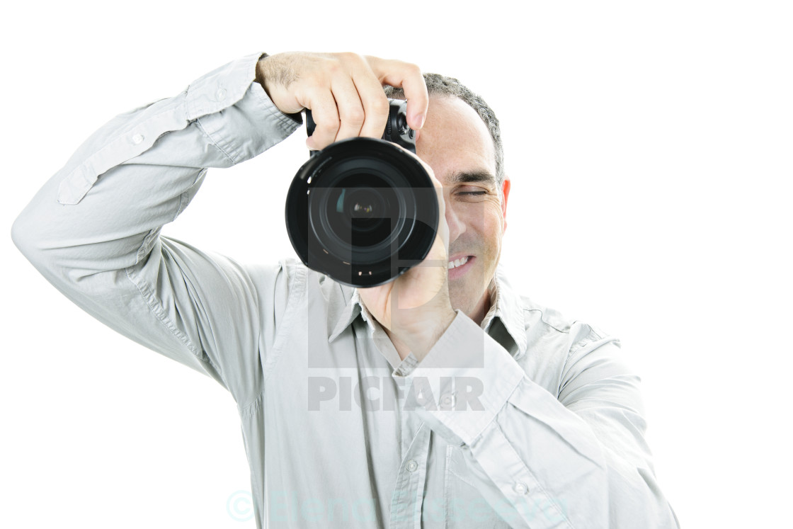 """""""Photographer with camera"""" stock image"""