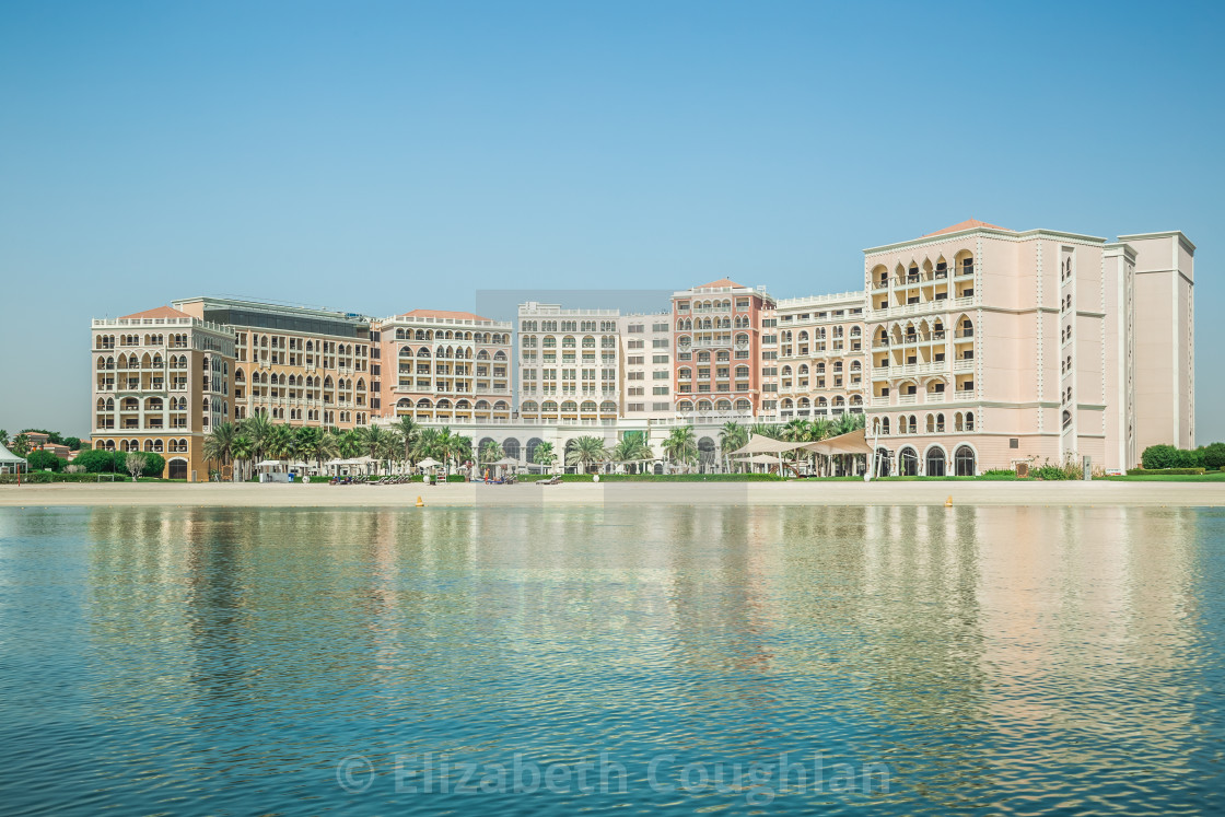 """Ritz-Carlton Hotel, Abu Dhabi, United Arab Emirates,"" stock image"