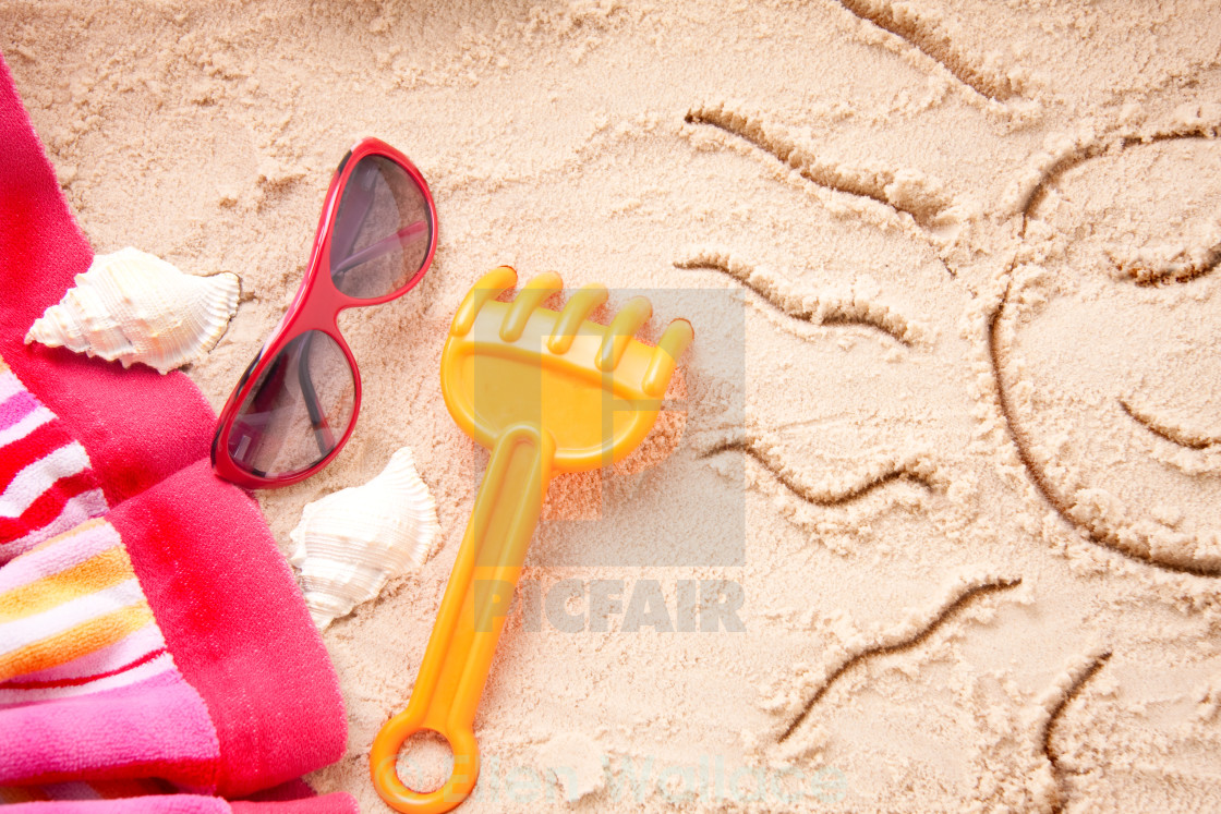 """Sandy beach"" stock image"