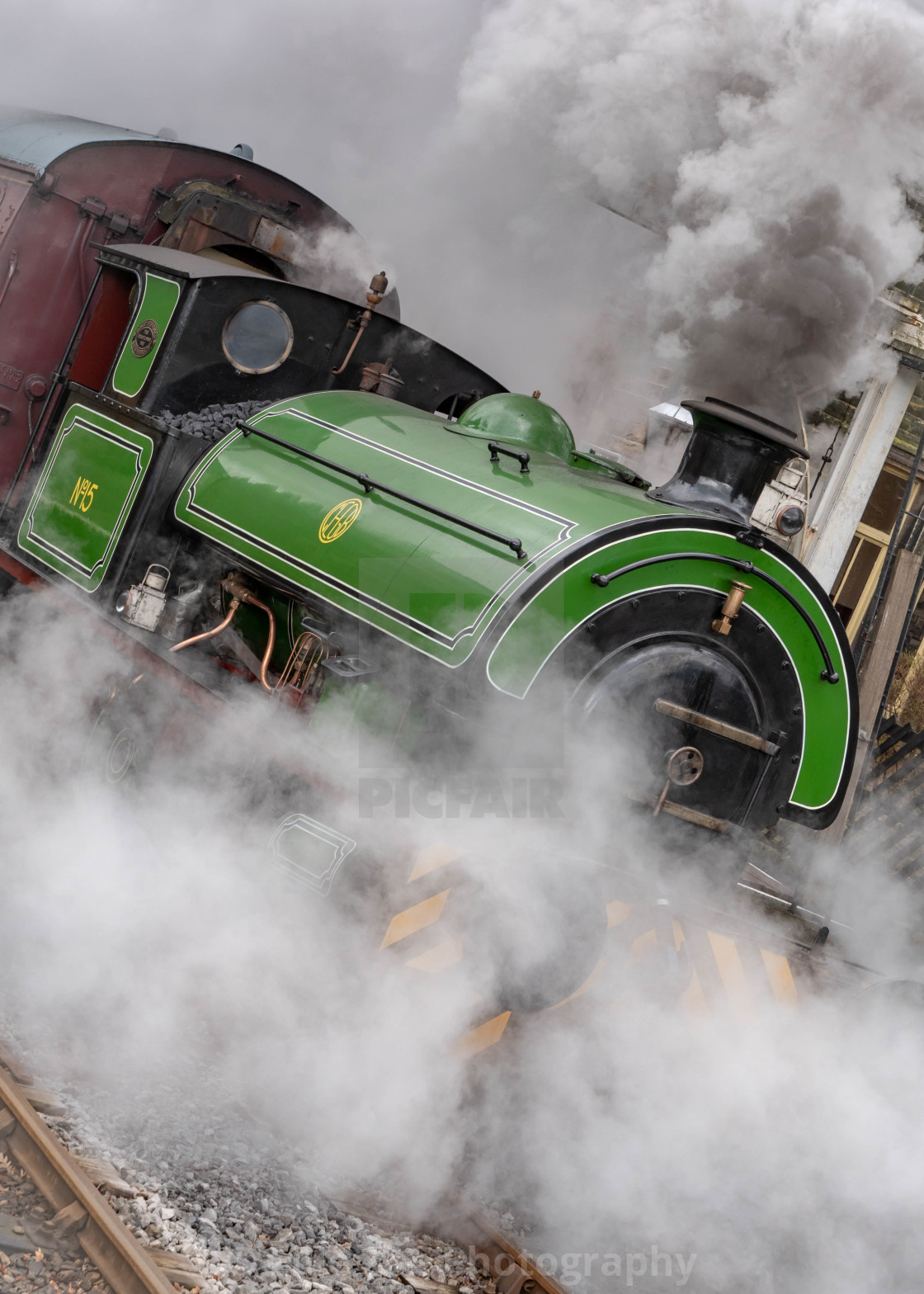 """Steam Powered"" stock image"