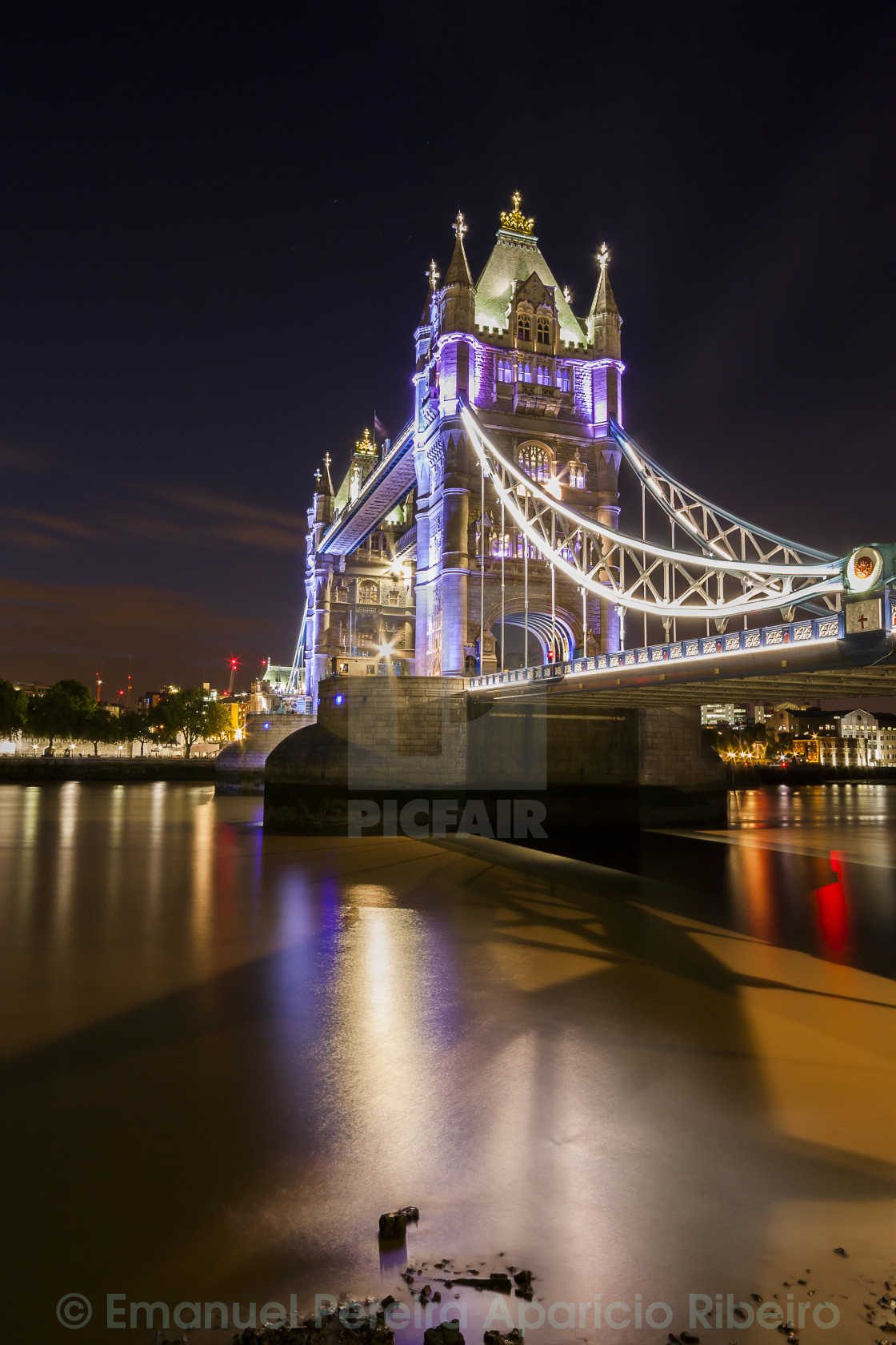 """The Tower Bridge"" stock image"