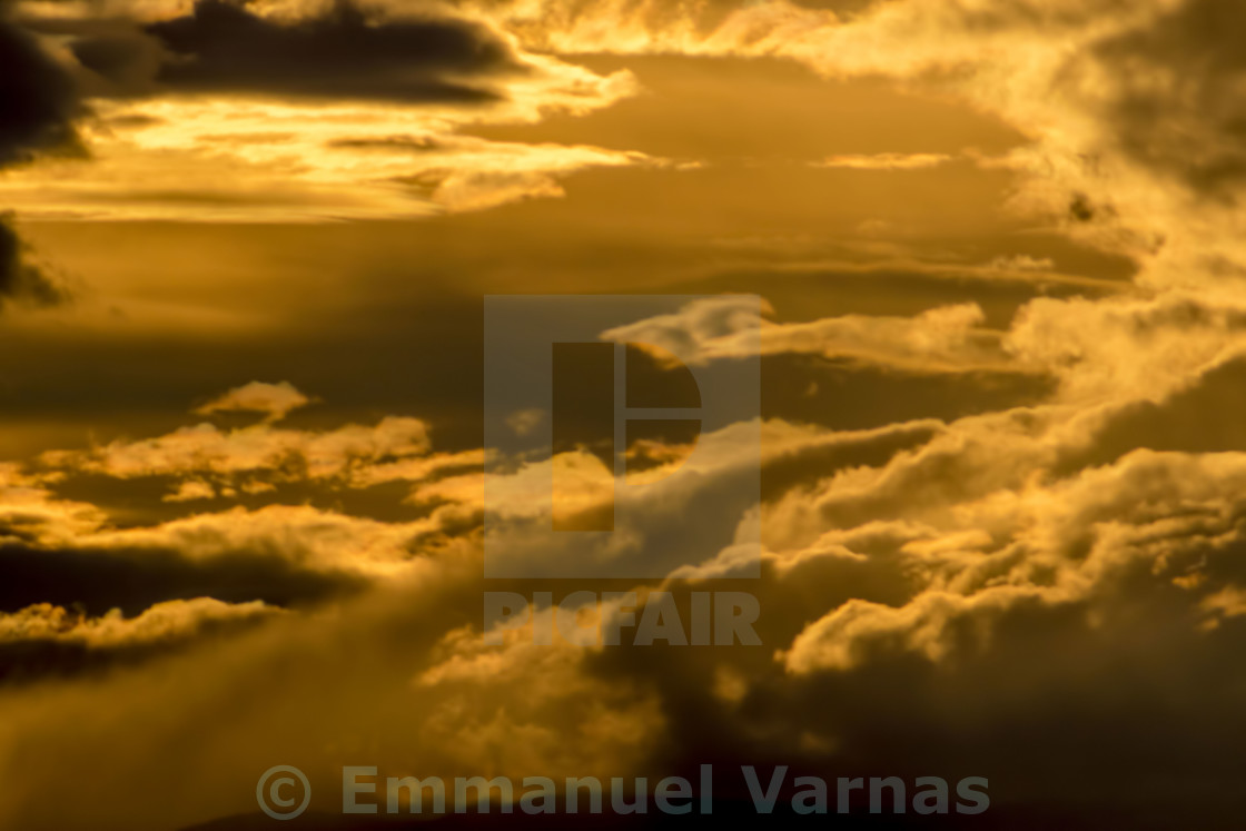 """""""into clouds"""" stock image"""