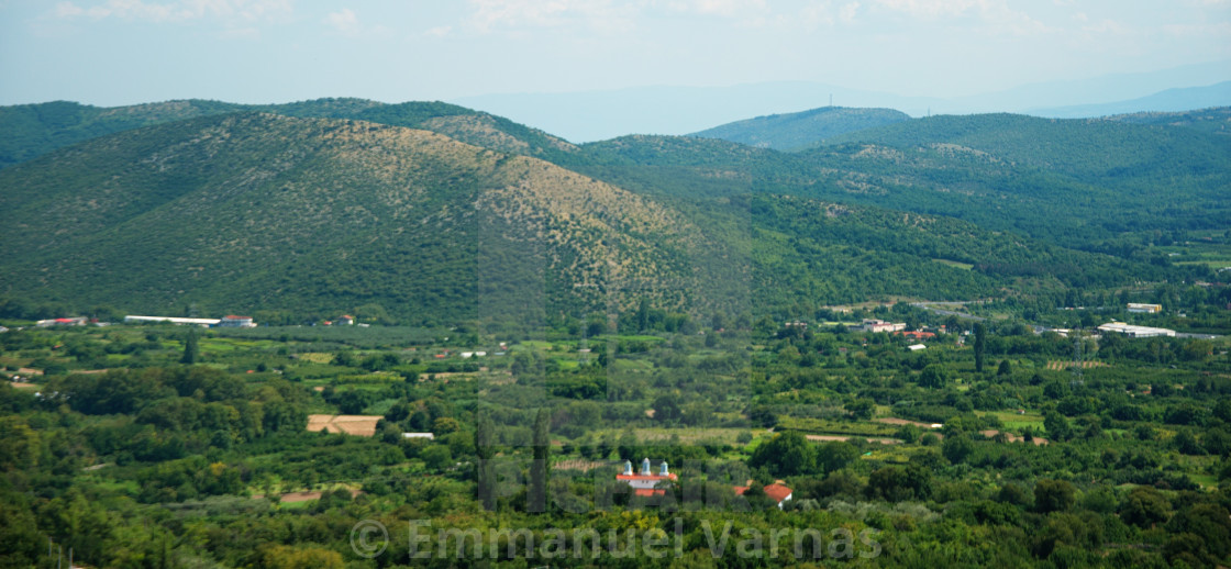 """""""landscape of mountains"""" stock image"""