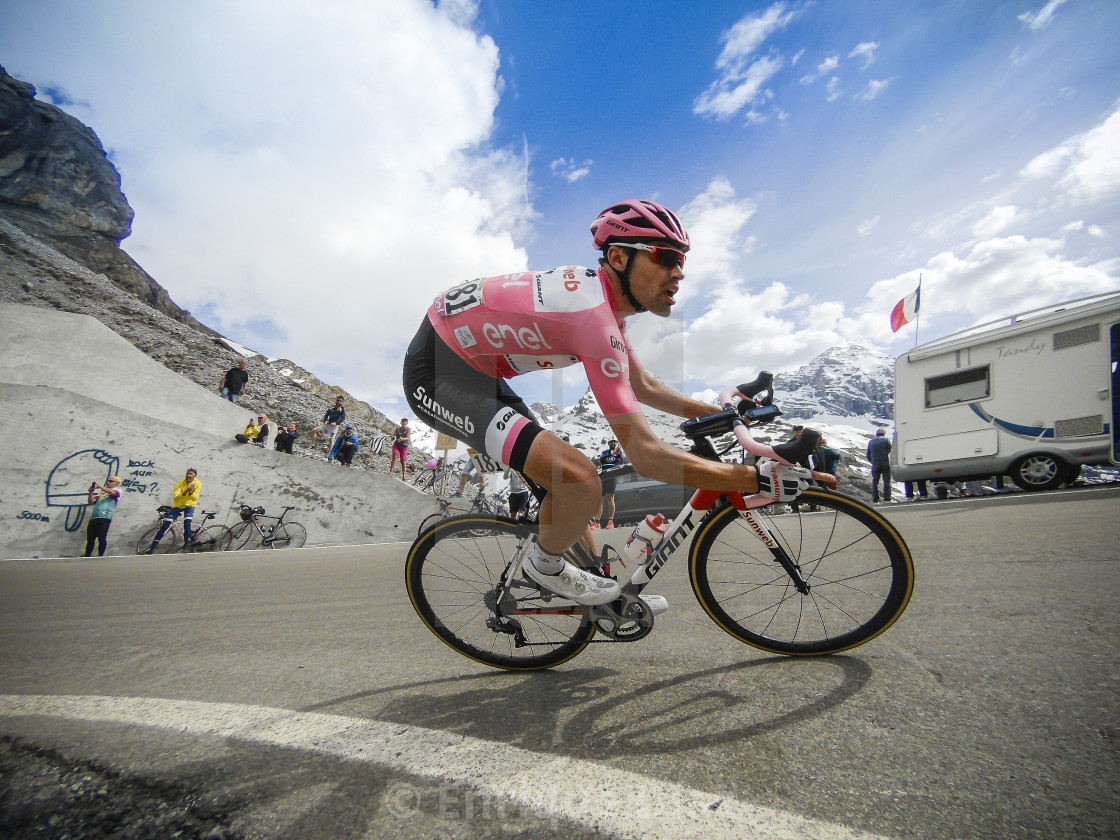"""Tom Dumoulin, Giro D´Italia, 2017"" stock image"