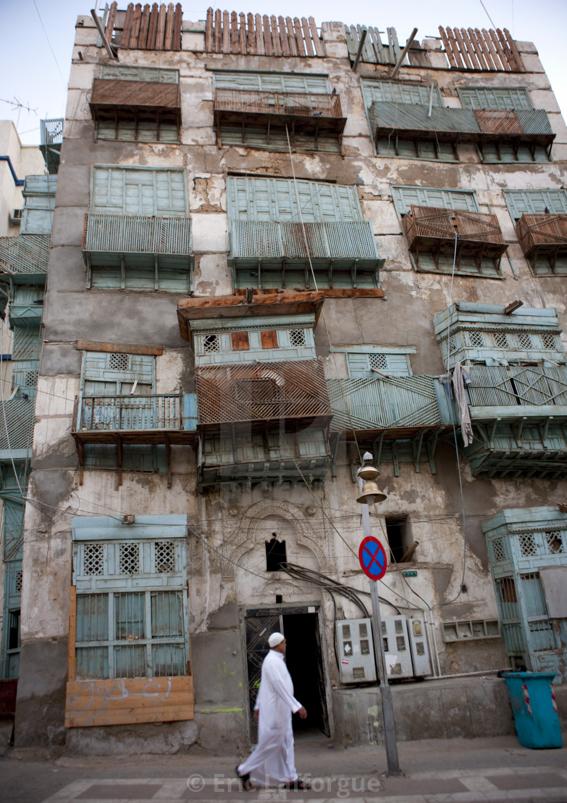 """Old jeddah houses , Saudi arabia"" stock image"