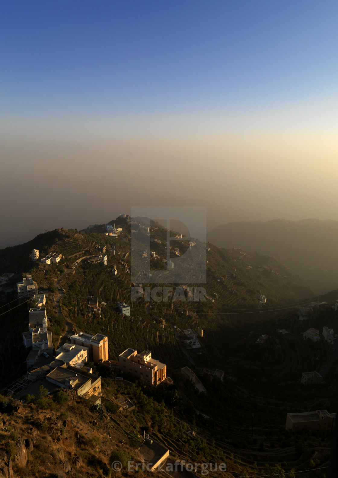 """Al faifa mountains, Saudi arabia"" stock image"