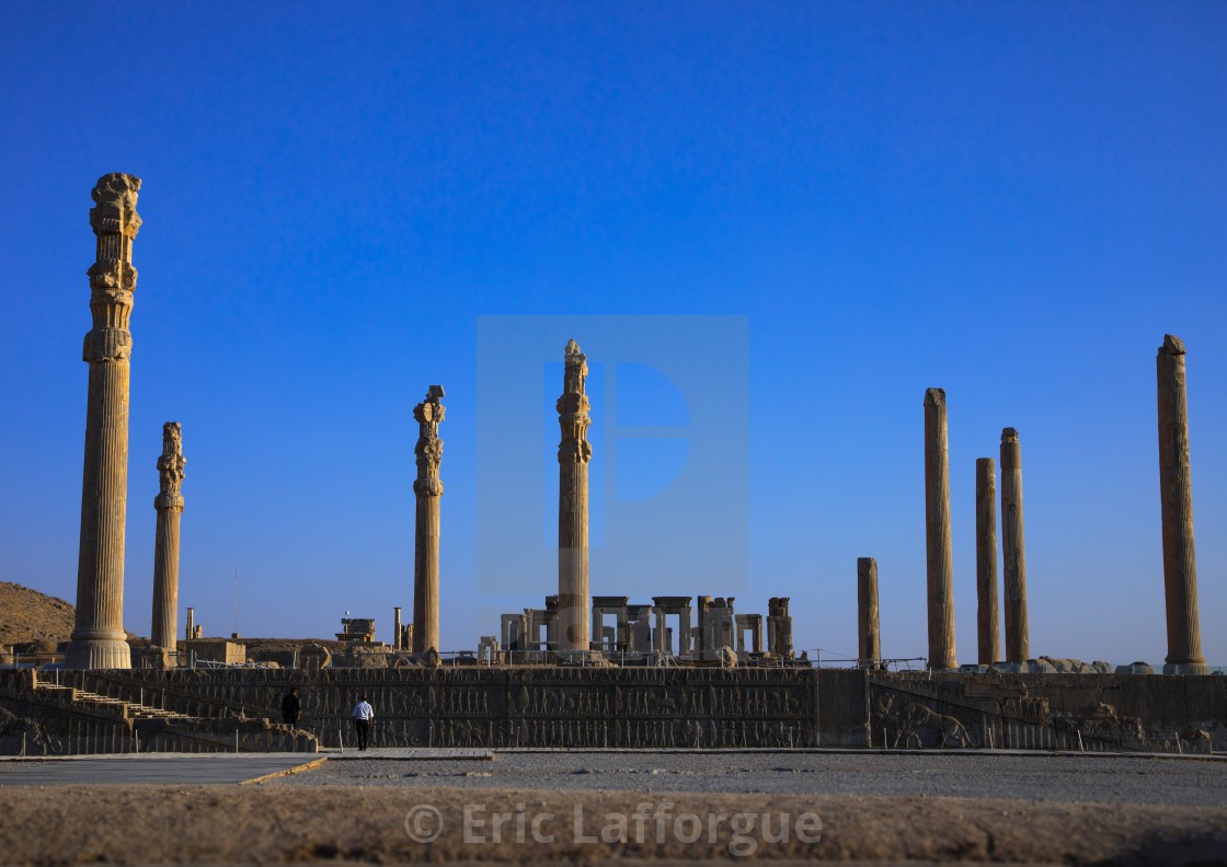 General Overview Of The Remains Of Ruins Of The Apadana In Persepolis Fars License Download Or Print For 57 70 Photos Picfair