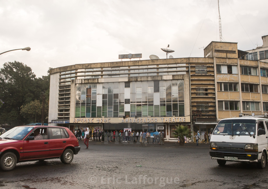 Ambassador cinema in the city center, Addis abeba region