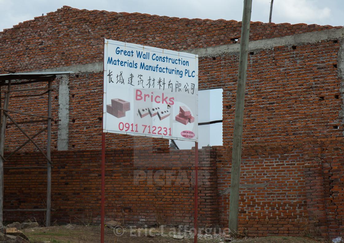 Chinese bricks company, Addis abeba region, Addis ababa, Ethiopia