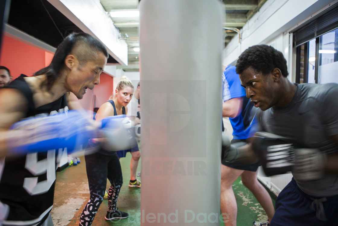 """Boxing Training"" stock image"