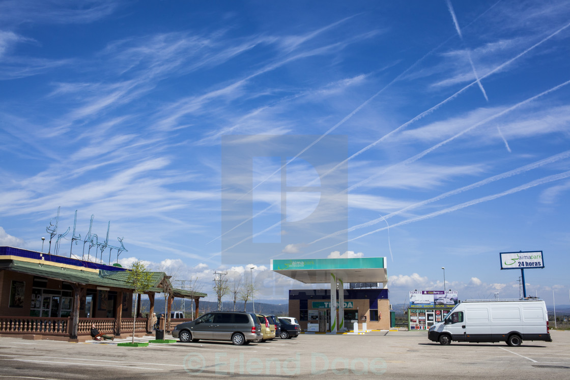 """Fuel Station"" stock image"