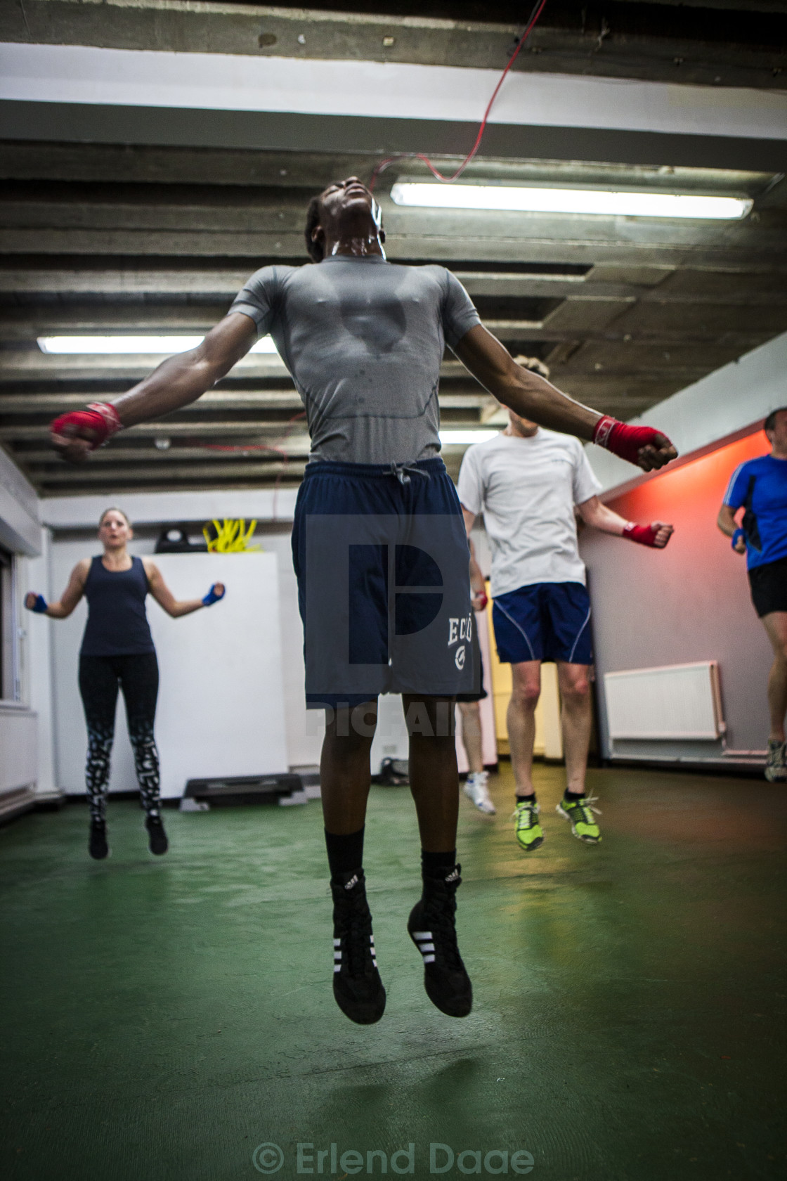 """Training"" stock image"