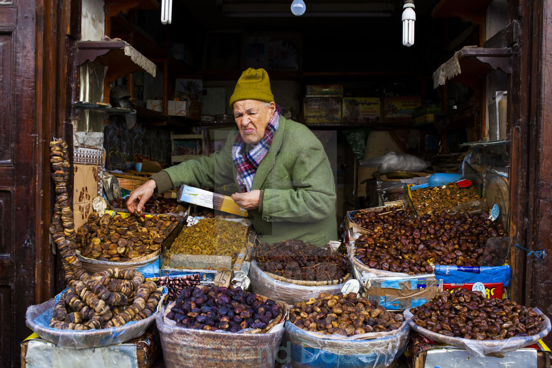 Nuts and Fruit Vendor - License, download or print for £12 40