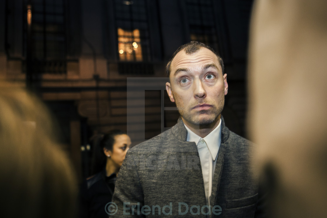 """Jude Law"" stock image"