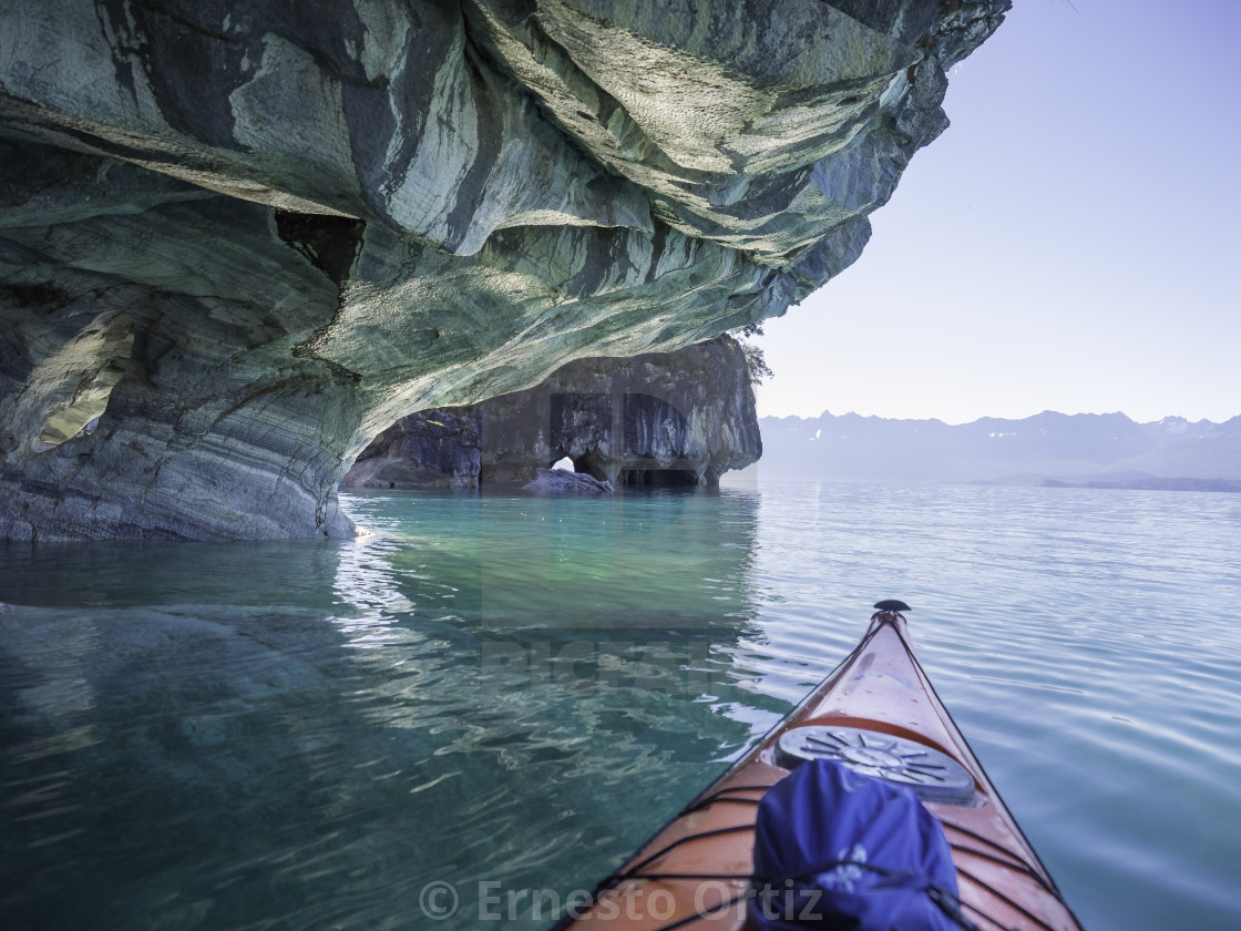 """Patagonia Kayaking"" stock image"