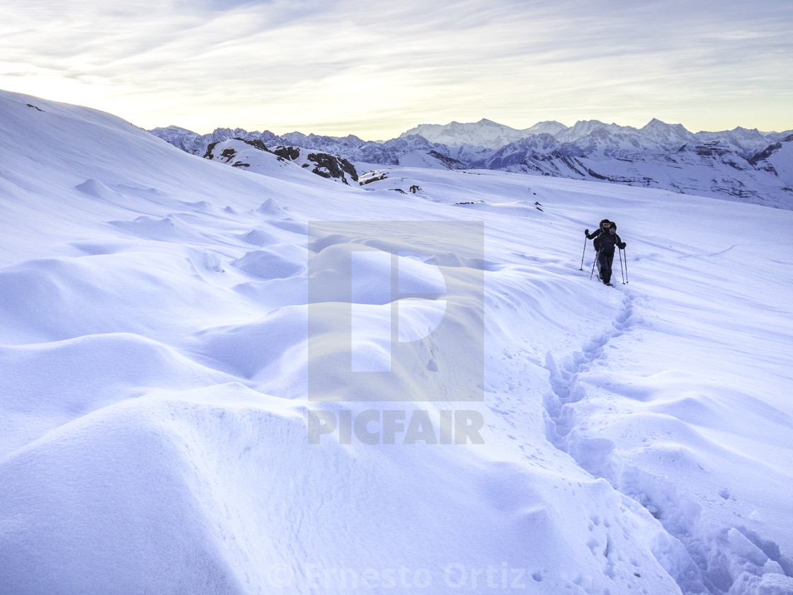 """Snow Adventure"" stock image"