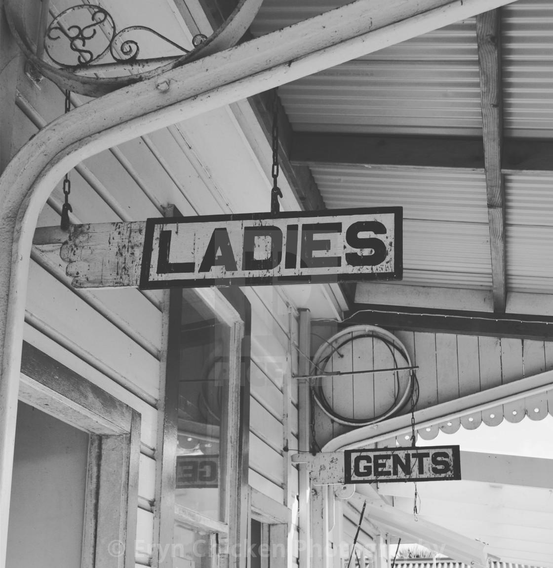 """""""Ladies"""" stock image"""