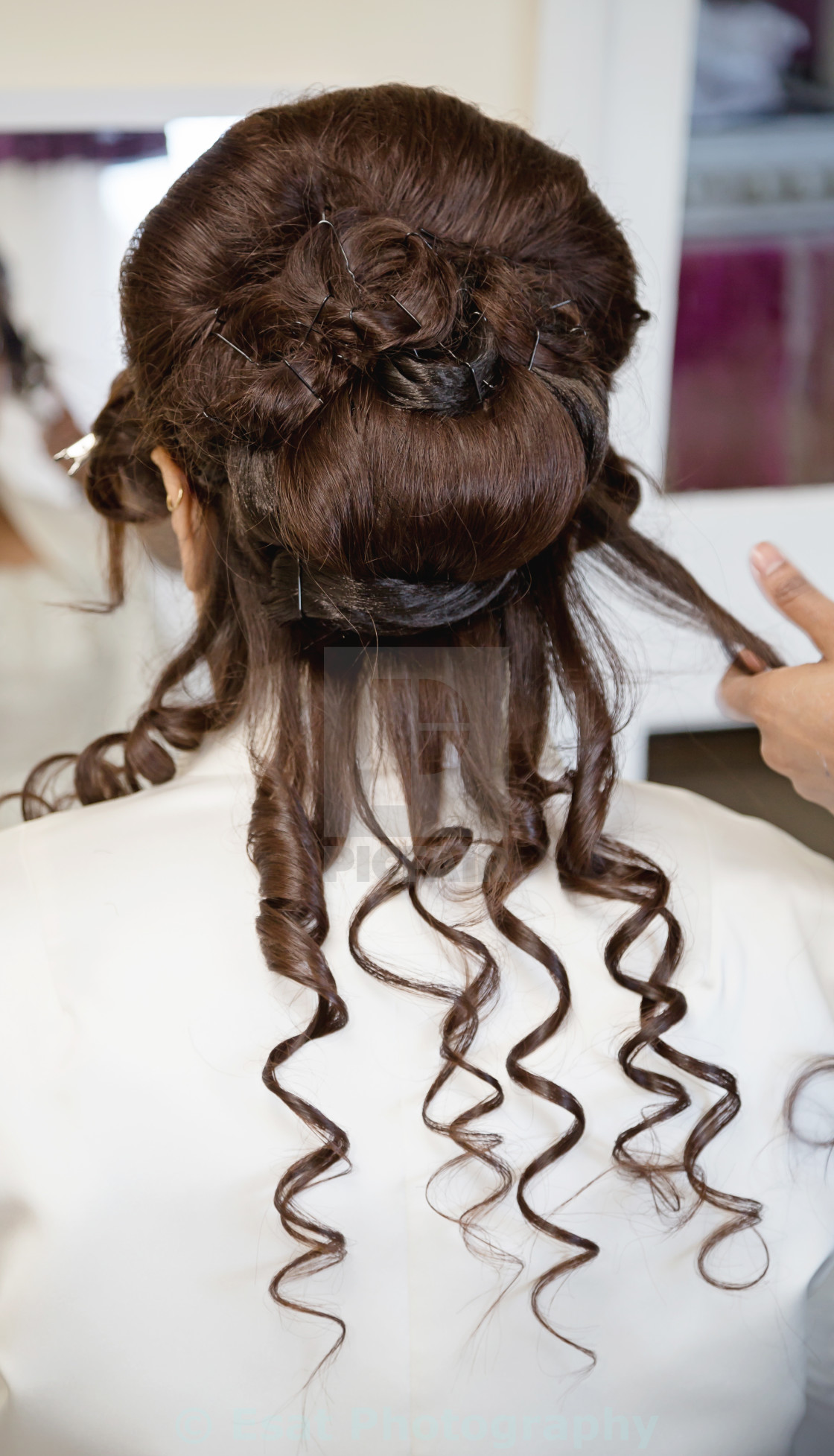 """""""Curly hair"""" stock image"""
