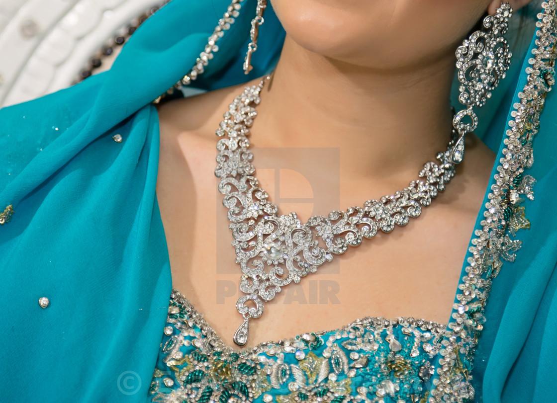 """brides necklace"" stock image"