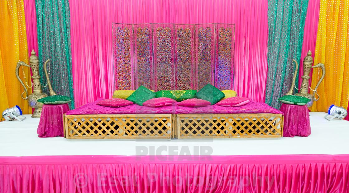 """Henna stage"" stock image"