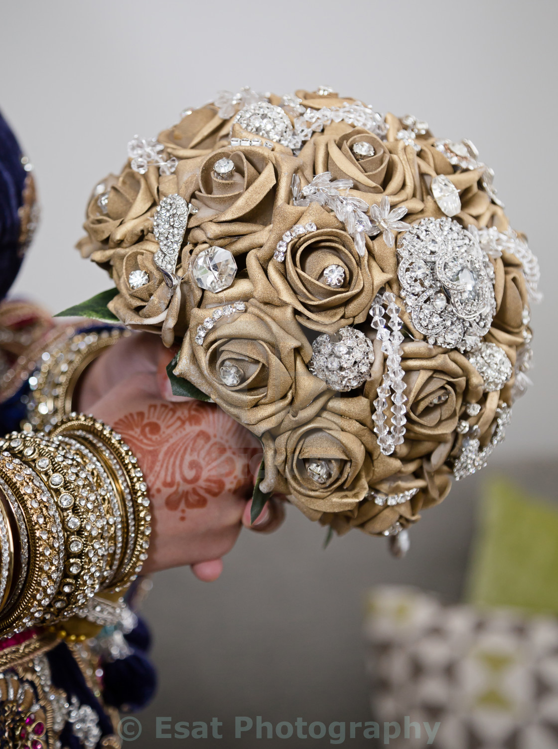 """""""Gold bouquet"""" stock image"""