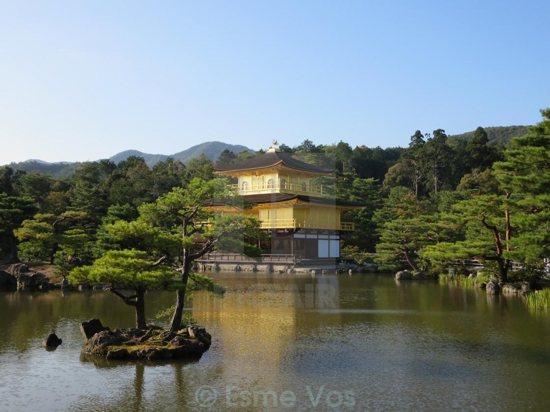 """Golden Pavilion Kyoto Japan"" stock image"