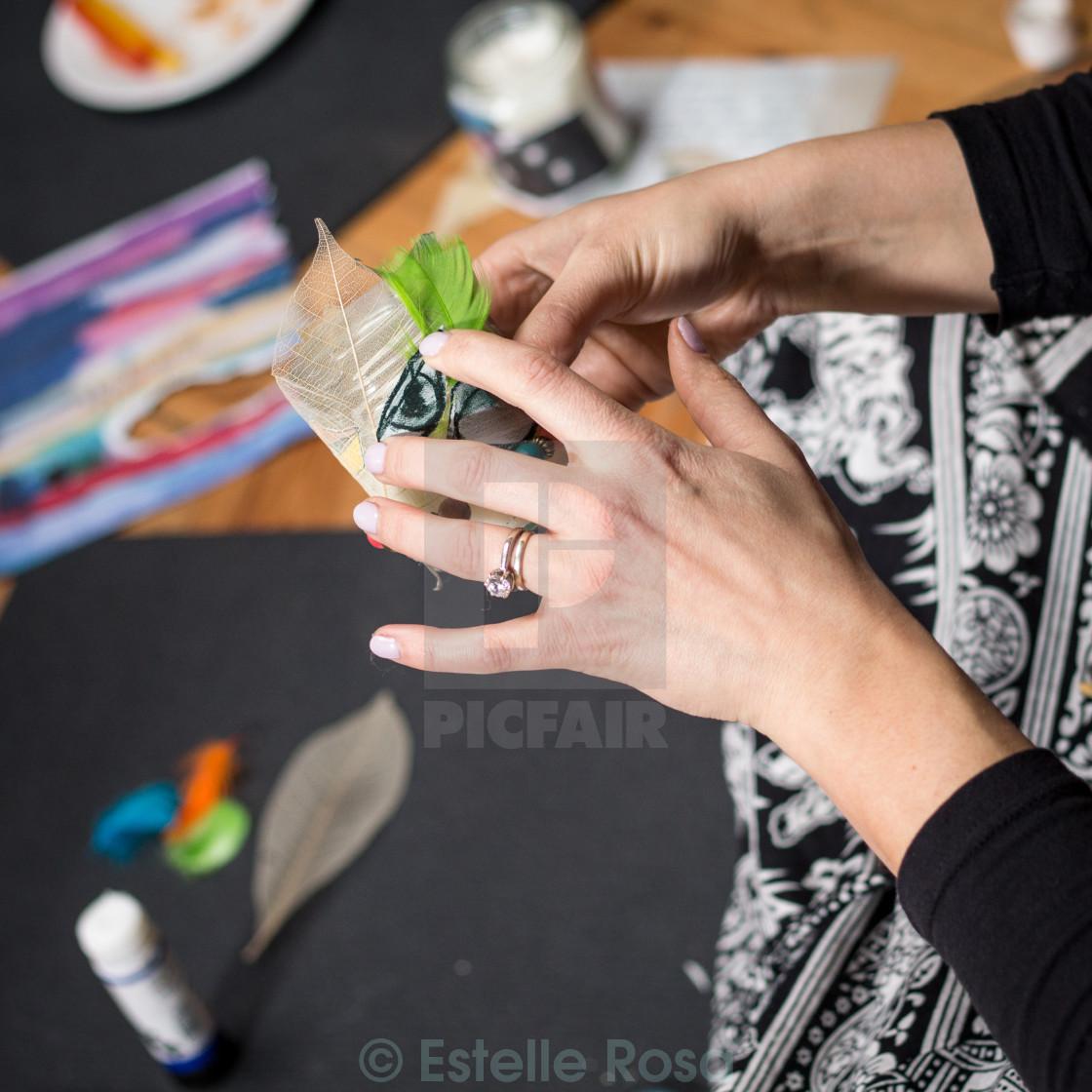 """craft workshop"" stock image"