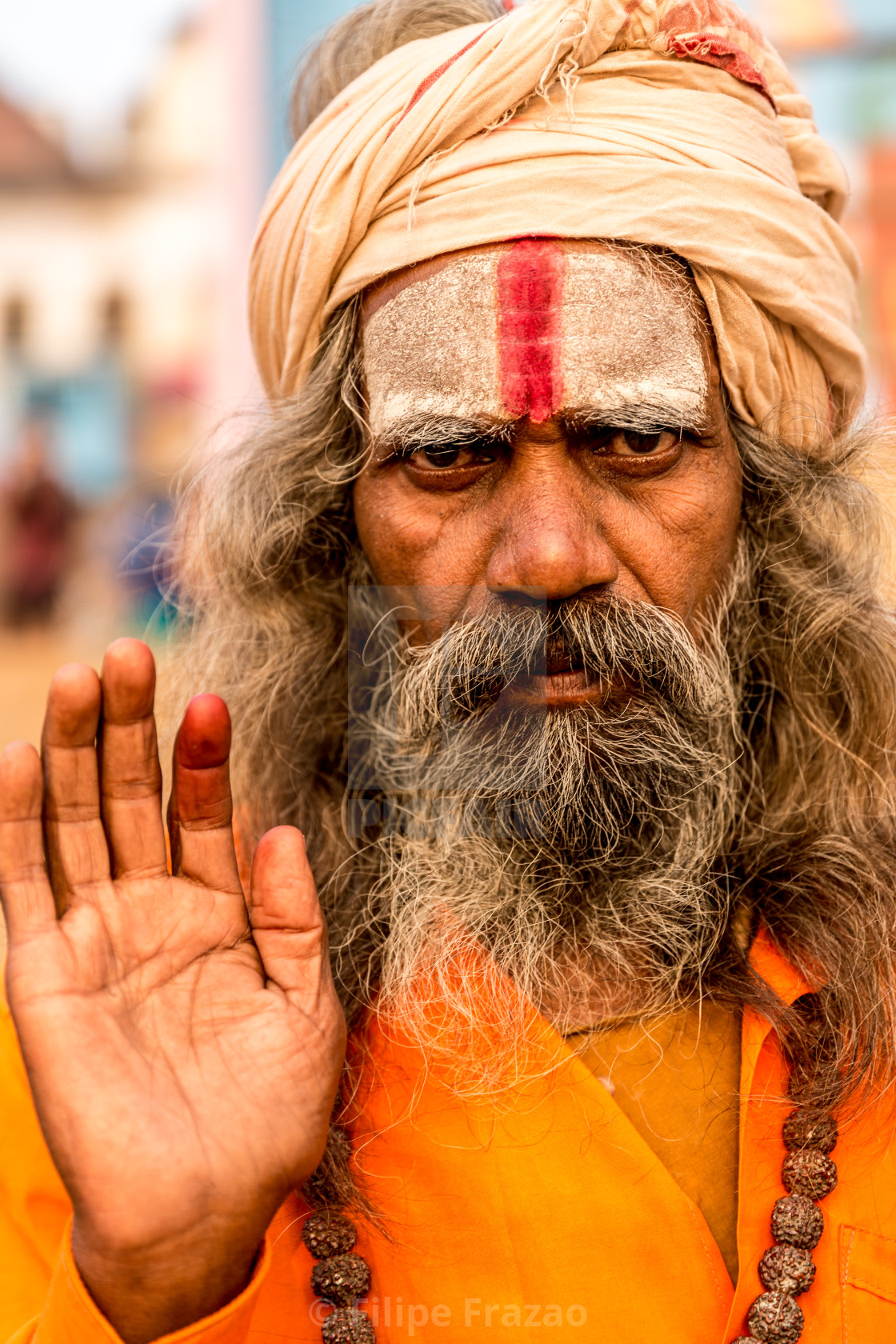 """Sadhu in Varanasi, India"" stock image"