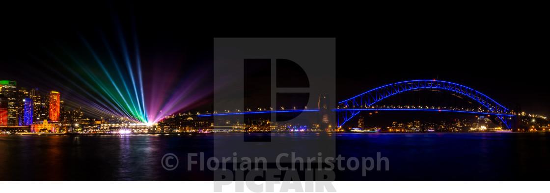 """Vivid Sydney"" stock image"