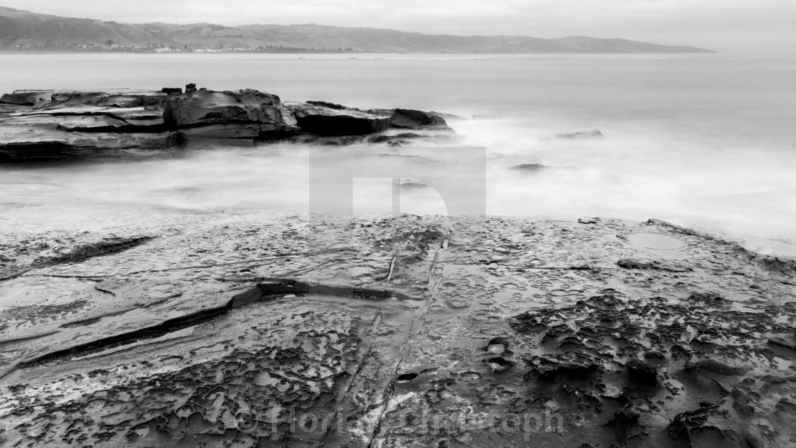 """Mystical Apollo Bay"" stock image"