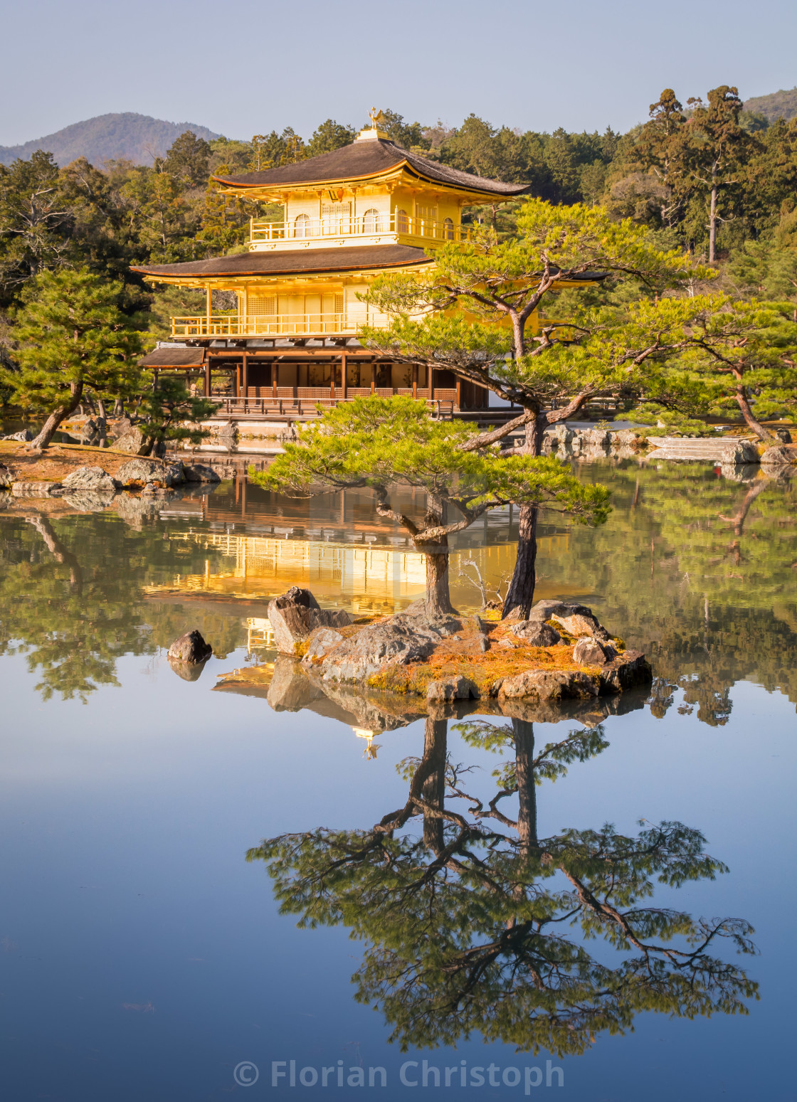 """Golden Pavilion Kyoto"" stock image"