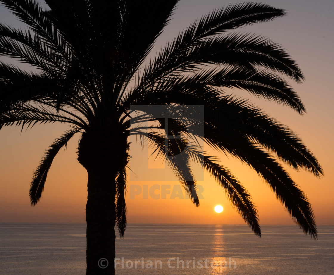 """Gran Canaria Sunset"" stock image"