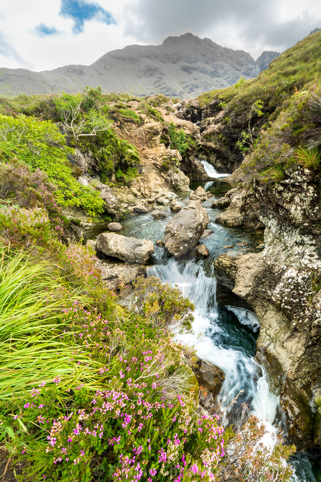 """Fairy Pools"" stock image"