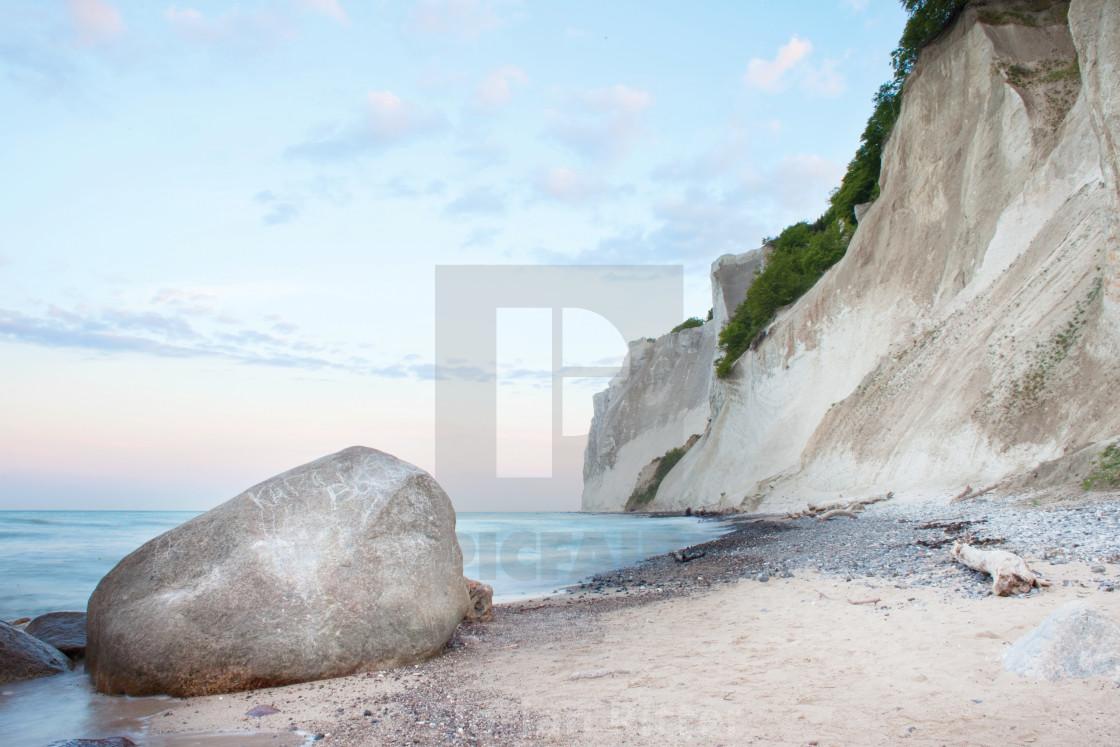 """""""Denmark coast Island Møn"""" stock image"""