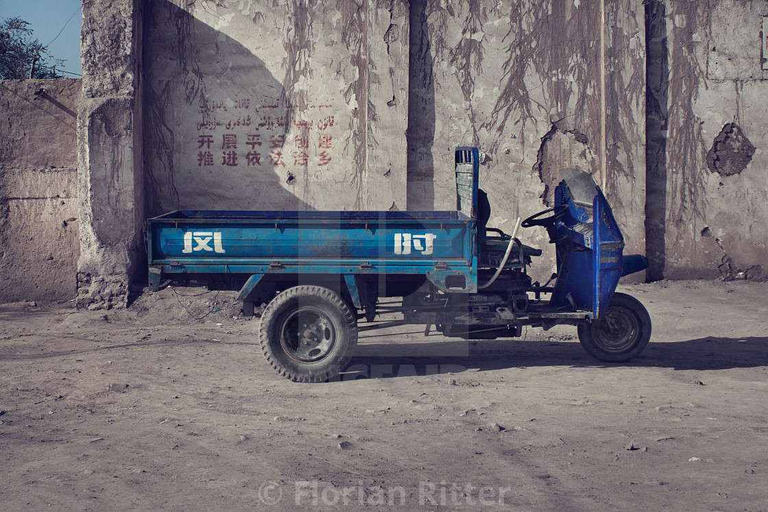 """Tricycle Truck"" stock image"