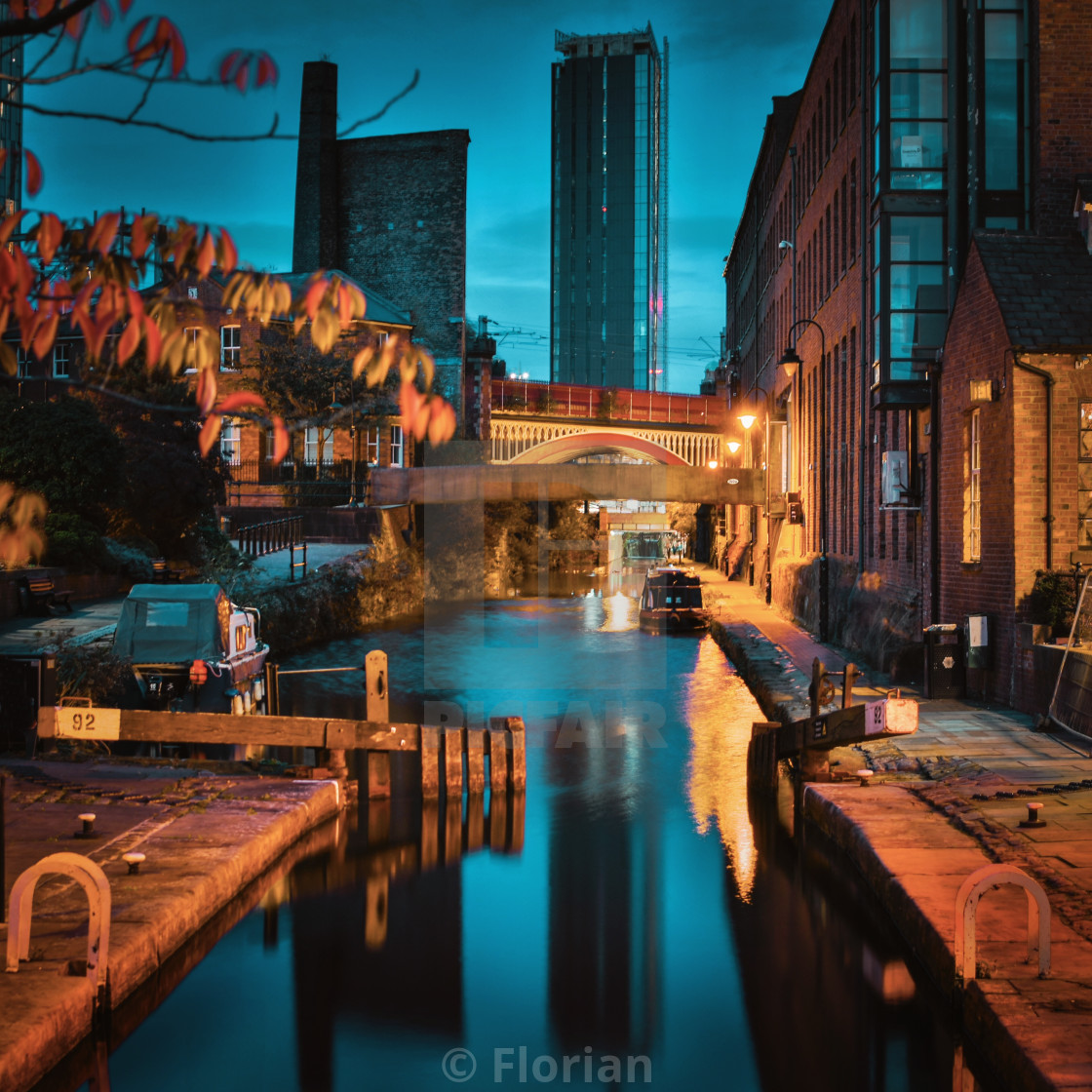 """Castlefield, Manchester"" stock image"