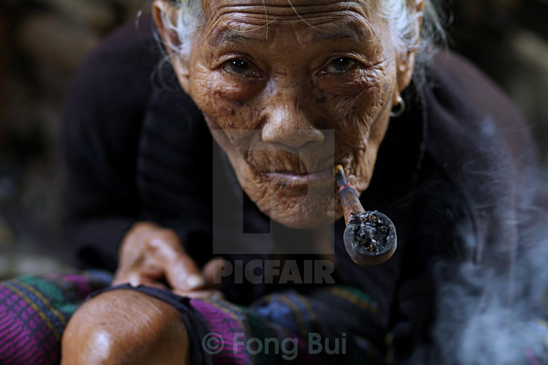 """""""B'Rau portrait"""" stock image"""