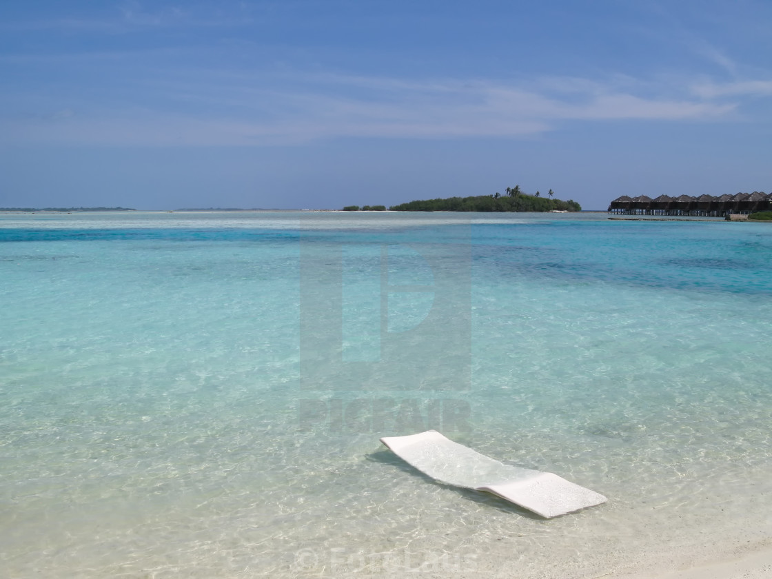"""Dream beach on the Maldives"" stock image"